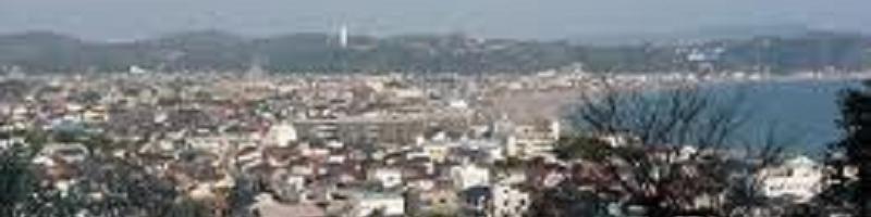 鎌倉の町並み