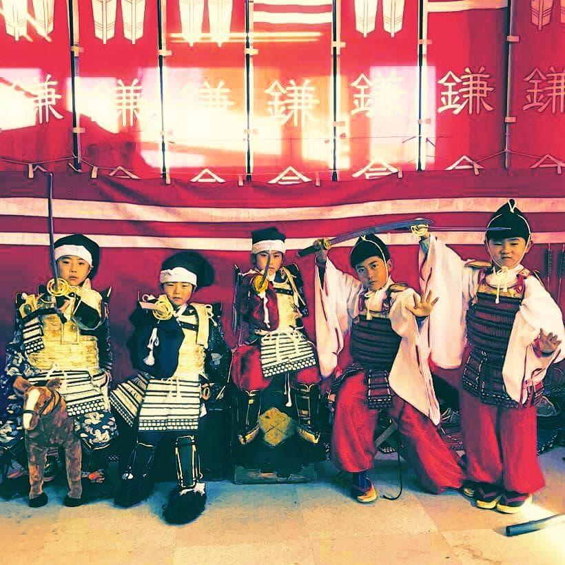 鎌倉もののふ装束体験